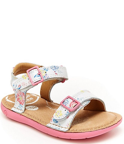 Stride Rite Girls' Kingsley Floral Print SRT Sandals (Toddler)