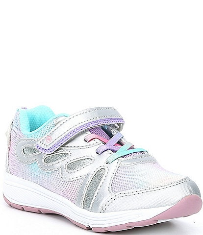 Stride Rite Girls' Lighted Flyaway Sneaker (Toddler)