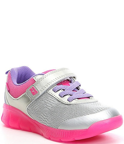 Stride Rite Girls' Lighted Neo Made 2 Play Sneaker