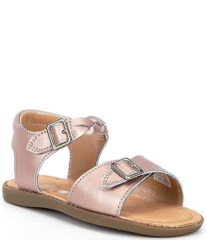 Stride Rite Girls' Naomi Leather Sandals Youth