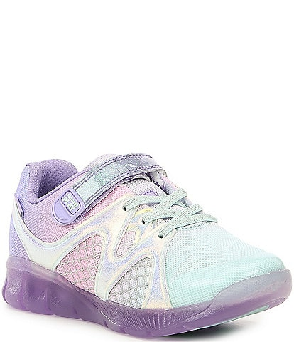 Stride Rite Girls' Pur Lighted Mermaid Made2Play Sneakers (Toddler)