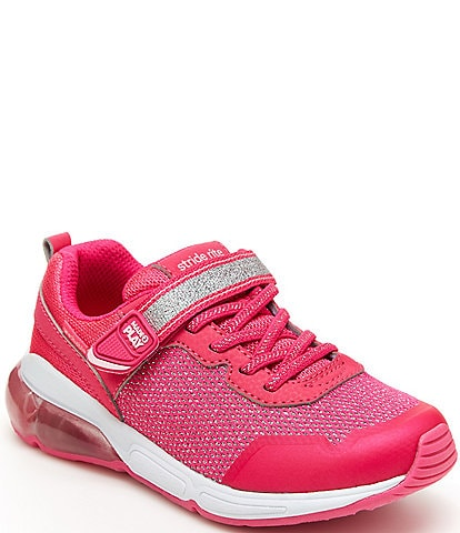 Stride Rite Girls' Radiant Bounce Made2Play Lighted Washable Sneakers (Youth)