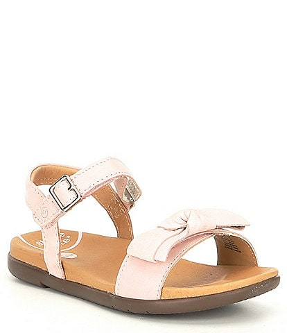 Stride Rite Girls' Savannah SRT Leather Sandal