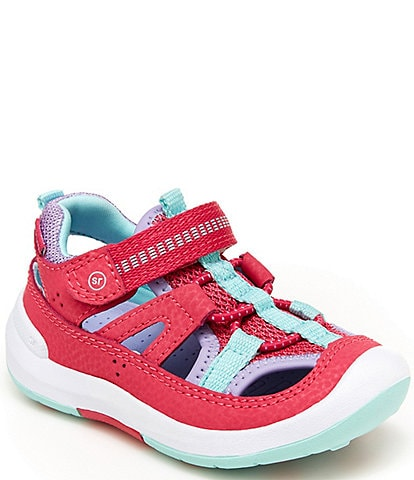 Stride Rite Girls' Wade SRTech Washable Fisherman Sandals (Toddler)
