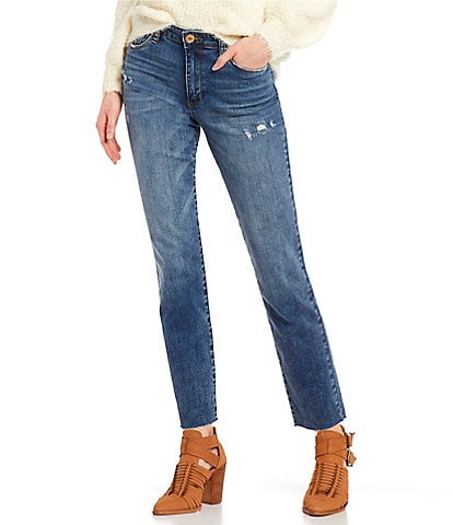 STS Blue Caroline High Rise Straight Jeans