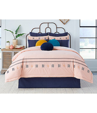 Studio D Jaylen Embroidered Comforter Mini Set