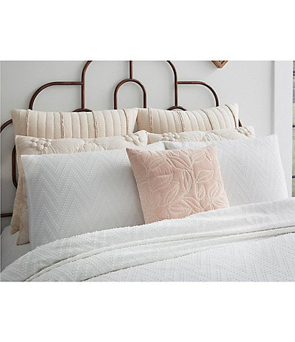 Studio D Katy Chevron Dot Clip Cut Comforter Mini Set