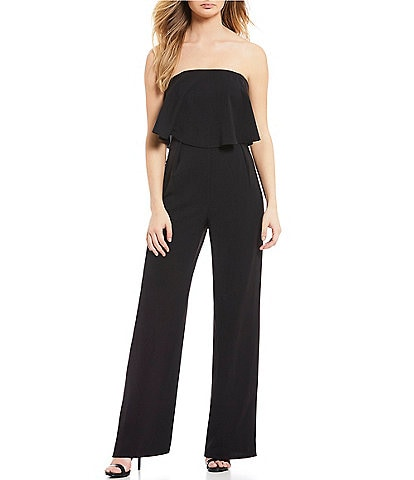 Sugarlips Strapless Popover Jumpsuit