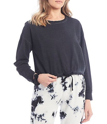 Sundown by Splendid Margo Burnout Pullover