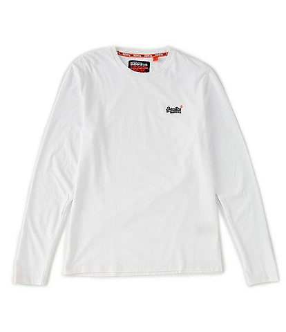 Superdry Long-Sleeve Vintage Embroidery T-Shirt