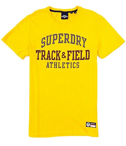 Superdry Short-Sleeve Track And Field Graphic T-Shirt