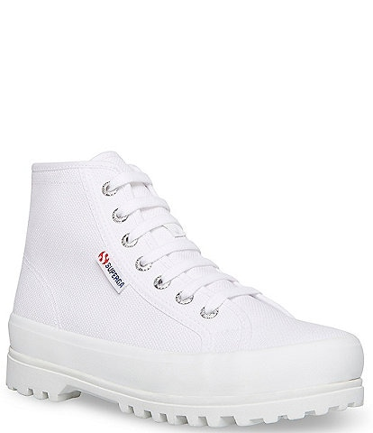 Superga 2341 Alpina COTU High Top Lace Up Sneakers