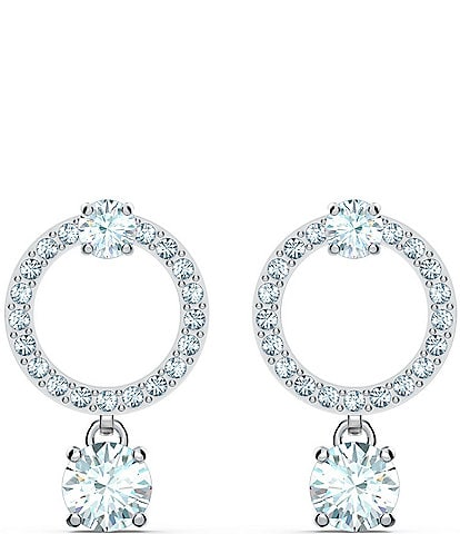 Swarovski Attract Circle Pierced Earrings