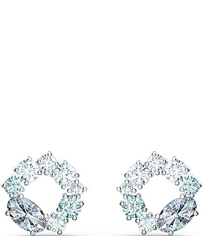 Swarovski Attract Circle Stud Pierced Earrings