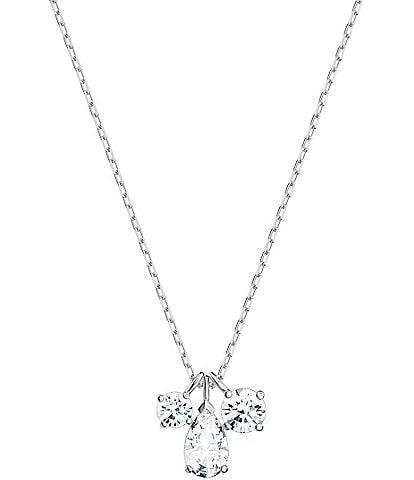 Swarovski Attract Cluster Pendant Necklace