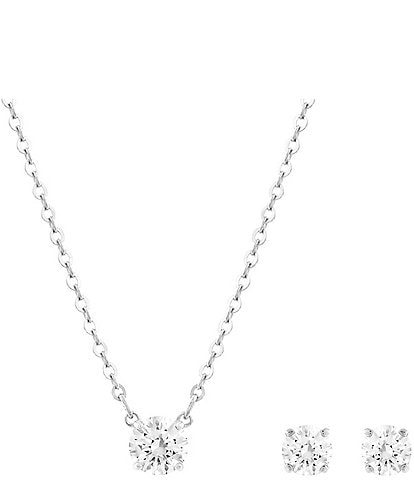 Swarovski Attract Earring & Pendant Necklace Set