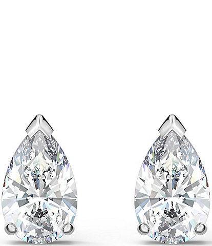 Swarovski Attract Pear Stud Pierced Earrings