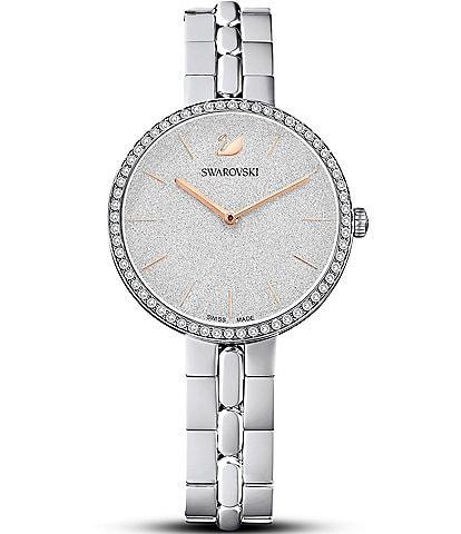 Swarovski Cosmopolitan Silver Bracelet Watch
