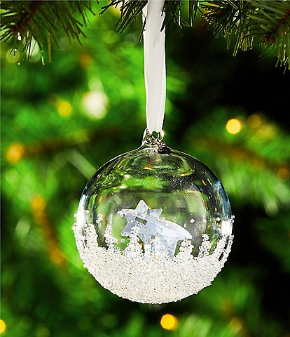 Swarovski Crystal Annual Edition 2018 Christmas Ball Ornament