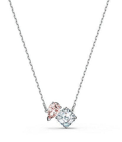 Swarovski Pink Crystal Attract Soul Necklace
