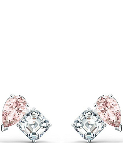 Swarovski Crystal Attract Soul Pierced Stud Earrings