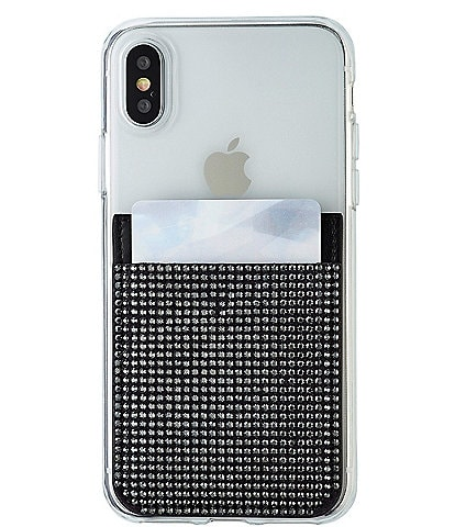 Swarovski Crystal Embellished Smartphone Sticker Pocket