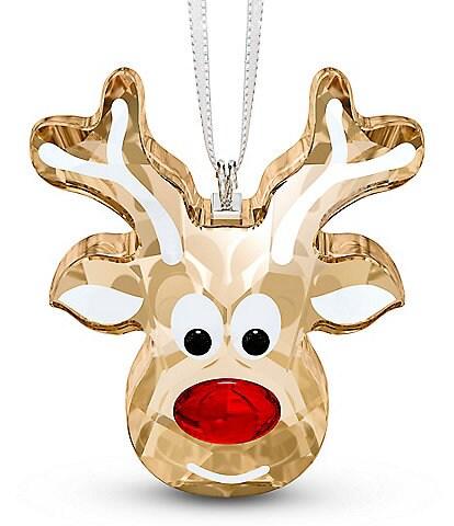 Swarovski Crystal Gingerbread Reindeer Ornament