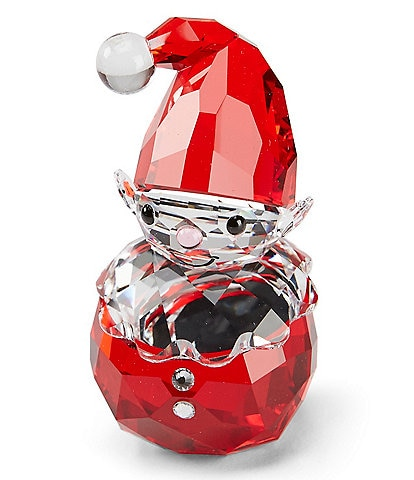 Swarovski Crystal Joyful Rocking Elf Figurine