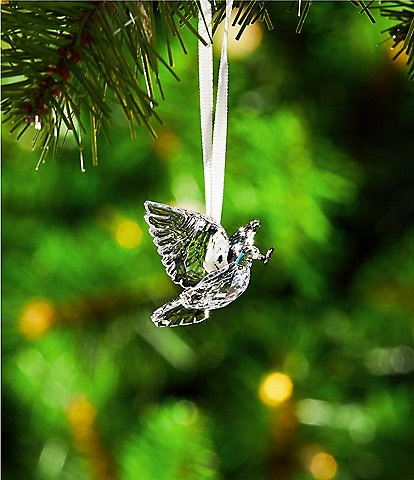 Swarovski Crystal Peace Dove Christmas Ornament