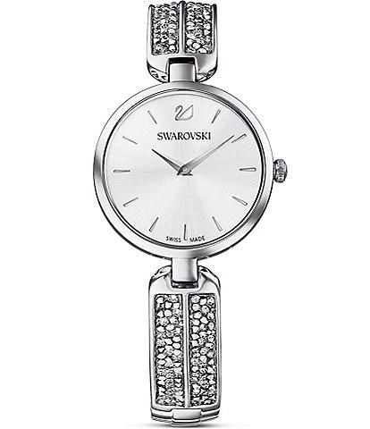 Swarovski Dream Rock Silver Bracelet Watch