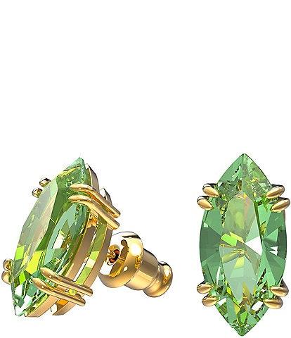 Swarovski Gema Kite-Cut Stud Earrings