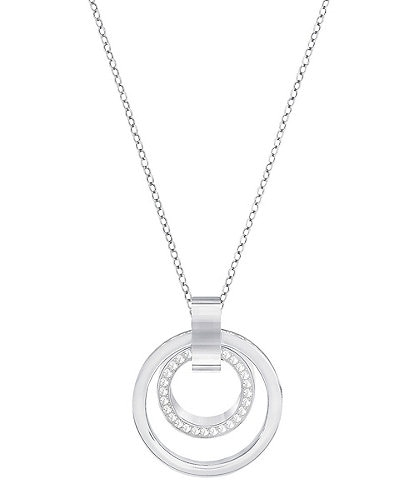 Swarovski Hollow Pendant Necklace
