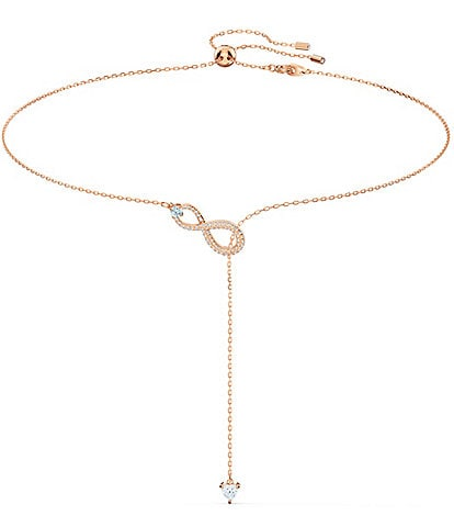 Swarovski Infinity Y Necklace