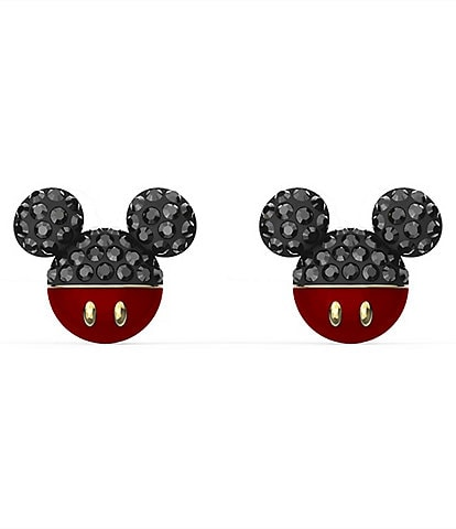Swarovski Mickey Pierced Earrings