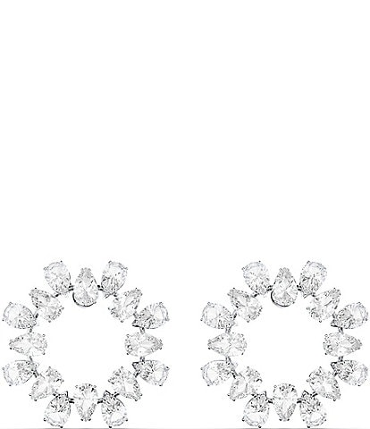 Swarovski Millenia Circle Hoop Earrings