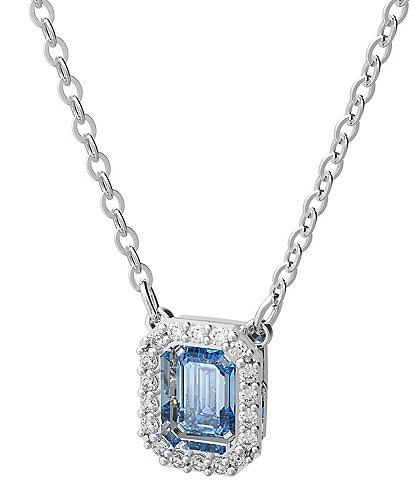 Swarovski Millenia Short Silver Pendant Necklace