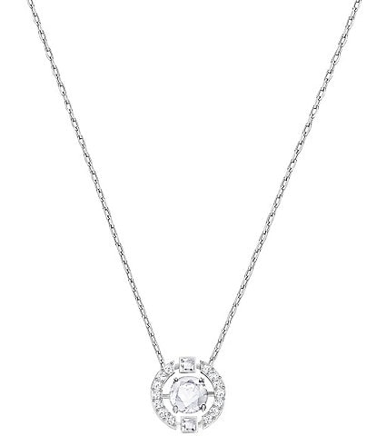 Swarovski Sparkling Dance Round Necklace