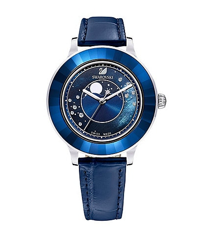 Swarovski Special Edition Octea Lux Moon Swiss Quartz Analog Watch