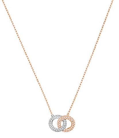 Swarovski Stone Interlocking Necklace