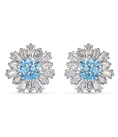 Swarovski Sunshine Pierced Stud Earrings