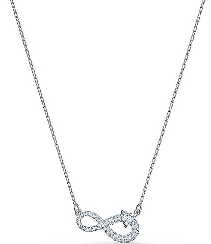 Swarovski Swa Crystal Infinity Necklace