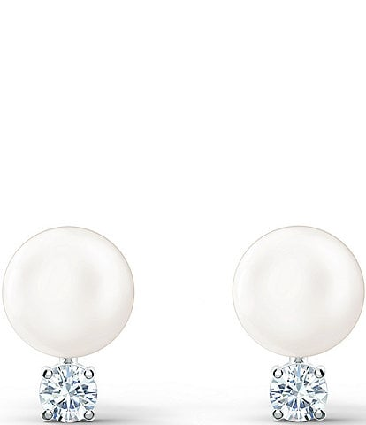 Swarovski Treasure Pearl Pierced Earrings