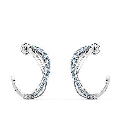 Swarovski Twist Mini Hoop Earrings