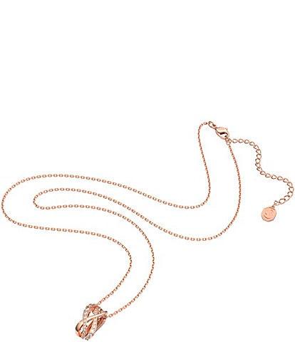Swarovski Twist Pendant Necklace