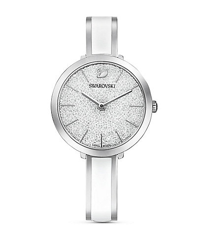 Swarovski White Crystalline Delight Watch