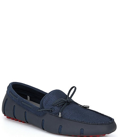 SWIMS Men's Braided Lace Lux Washable Loafer Drivers