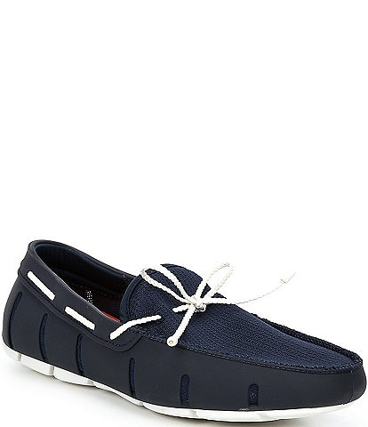 SWIMS Men's Braided Lace Washable Loafers