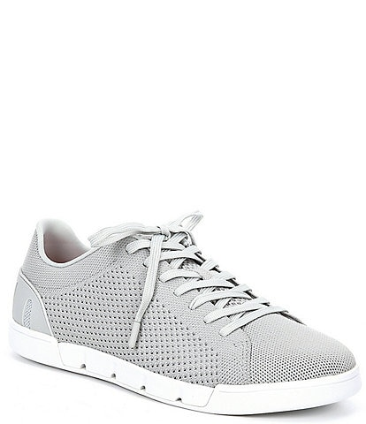 SWIMS Men's Breeze Tennis Knit Washable Lace-Up Sneakers