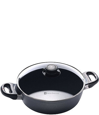 Swiss Diamond HD Classic Nonstick Casserole Pan with Lid