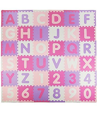 Tadpoles 36 Piece Foam Playmat Set, ABC